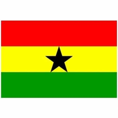 Kleine vlag ghana 60 90