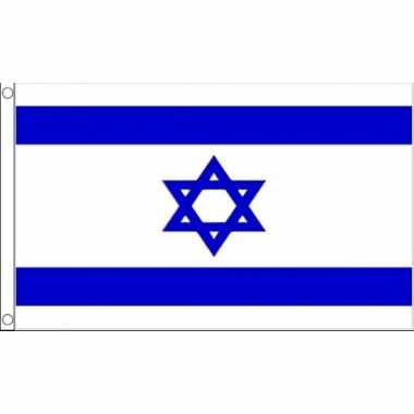 Kleine vlag israel 60 90