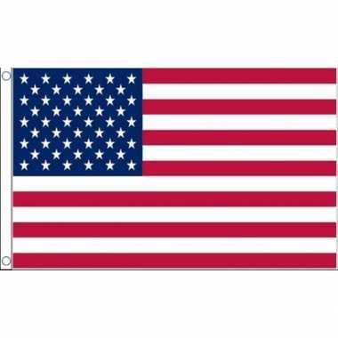 Kleine vlag usa 60 90