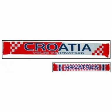 Kroatie fan shawl