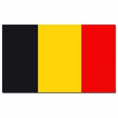 Landen vlag belgie 90 150