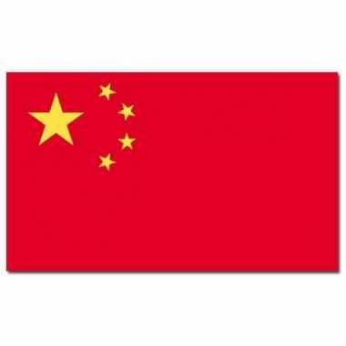 Landen vlag china 90 150