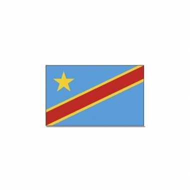 Landen vlag congo 90 150