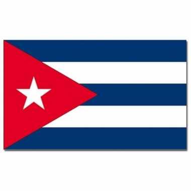 Landen vlag cuba 90 150