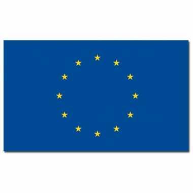 Landen vlag europa 90 150