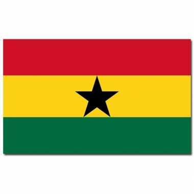 Landen vlag ghana 90 150