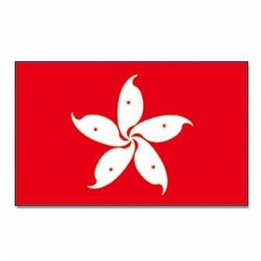 Landen vlag hong kong 90 150