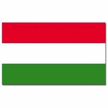 Landen vlag hongarije 90 150