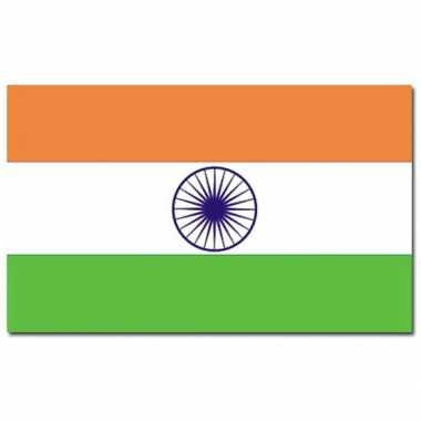 Landen vlag india 90 150