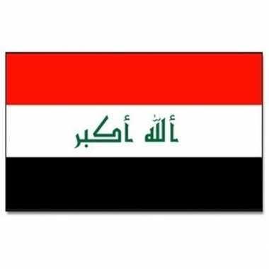 Landen vlag irak 90 150