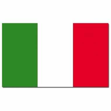Landen vlag italie 90 150