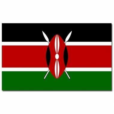 Landen vlag kenia 90 150