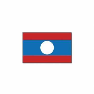 Landen vlag laos