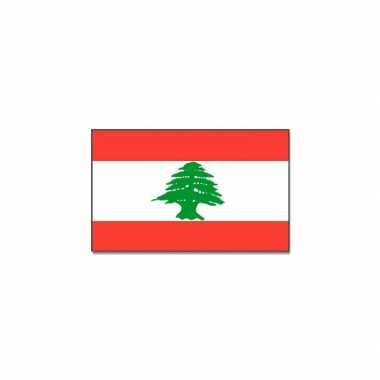 Landen vlag libanon
