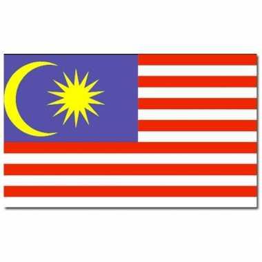 Landen vlag maleisie 90 150