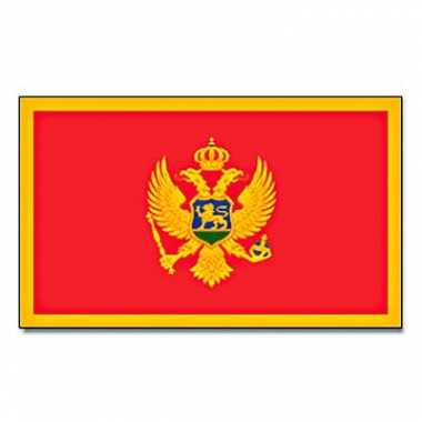 Landen vlag montenegro 90 150