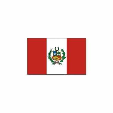 Landen vlag peru 90 150