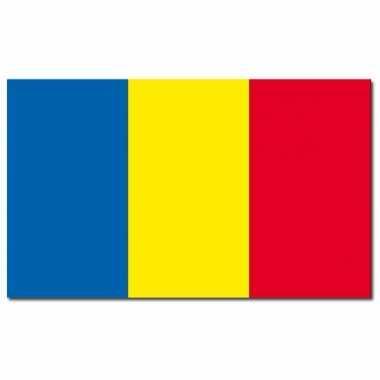 Landen vlag roemenie 90 150