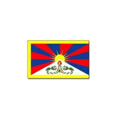 Landen vlag tibet 90 150