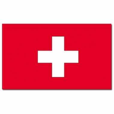 Landen vlag zwitserland 90 150