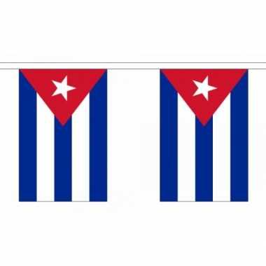Luxe cubaanse vlaggenlijn