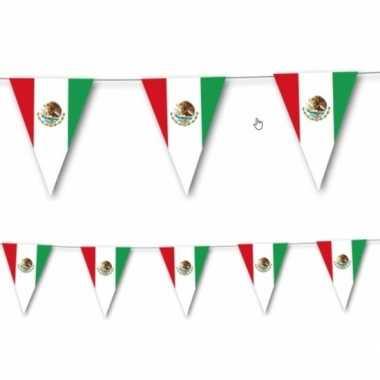 Mexicaanse vlag slingers 3,5 meter