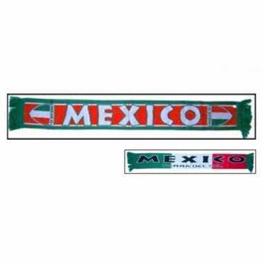 Mexico fan shawl
