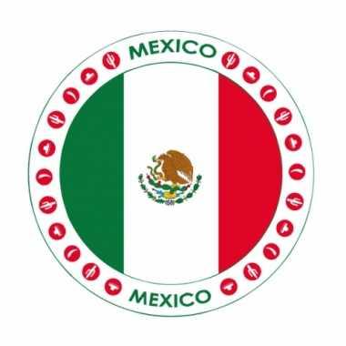 Mexico vlag bierviltjes