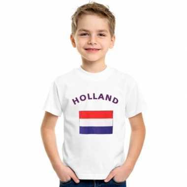 Nederlands vlaggen t shirts kinderen