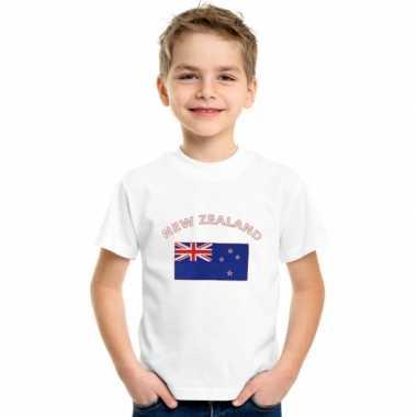 Nieuws zeelands vlaggen t shirt kinderen