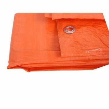 Oranje afdekzeil dekzeil 3 9 4 9 meter