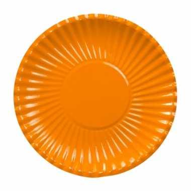 Oranje barbecue borden 23
