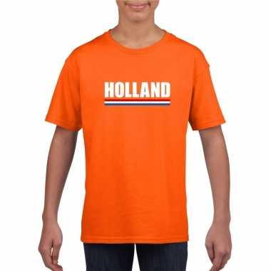 Oranje holland supporter shirt kinderen