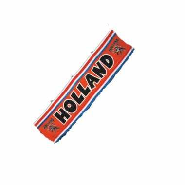 Oranje holland thema spandoek straatvlag 70 300