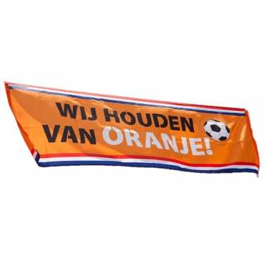 Oranje holland thema straat vlag 74 220