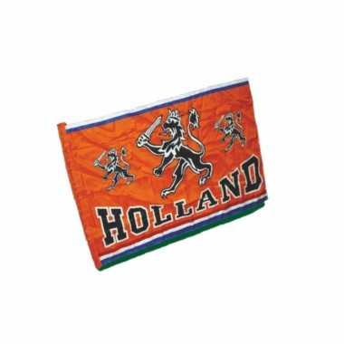 Oranje holland thema vlag 150 200