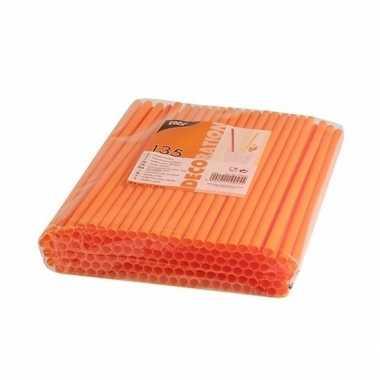 Oranje mikshakerietjes 270 stuks