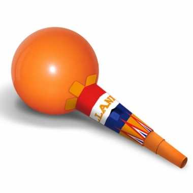 Oranje sambaballen ballon