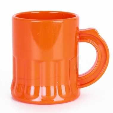Oranje shotglaasje 2,5 cl