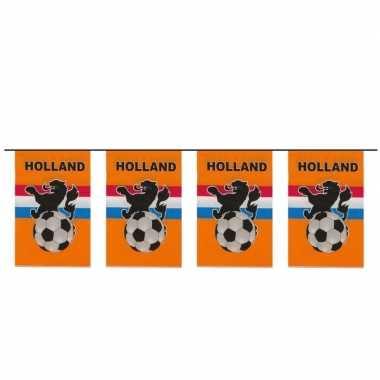 Oranje slinger voetbal 10 meter