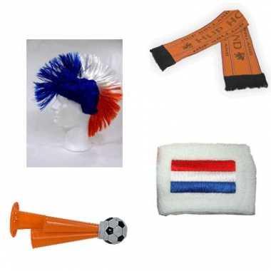 Oranje supporters pakket