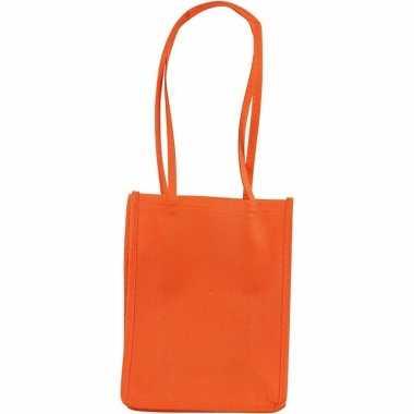 Oranje tas om te decoreren 20