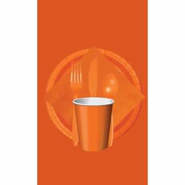Oranje thema tafel versiering pakket ek/bevrijdingsdag/koningsdag/wk