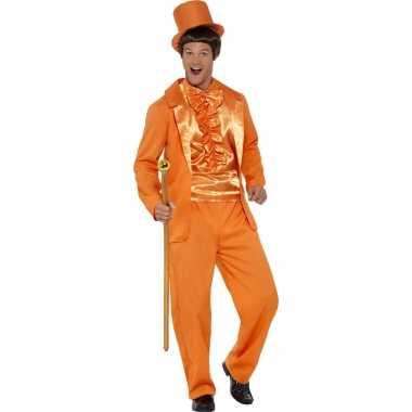 Oranje verkleedpak heren