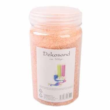 Oranje zand korreltjes 500 gram