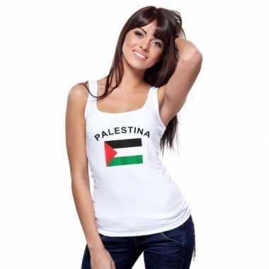 Palestijnse vlag tanktop/ singlet dames