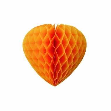 Papieren hart oranje 30