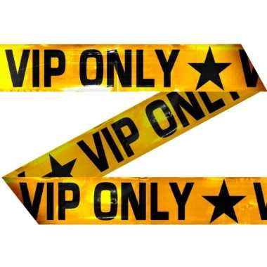 Party lint vip only opdruk