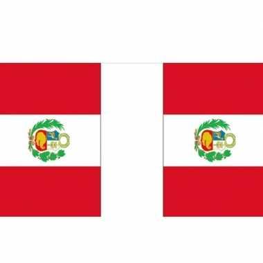 Peru vlaggenlijn 9 m