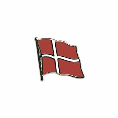 Pin speld vlag denemarken 20 mm